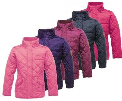 Regatta Giddyup Girls Water Repellent Insulated Quilted Jacket