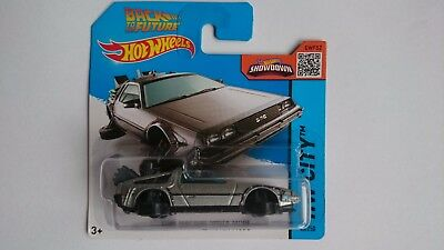 Hot Wheels 2015 Time Machine Hover Mode Back To The Future 45/250 Cfg79 Delorean