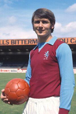 *stunning Photo* Aston Villa 1971 Bruce Rioch (Av-020)