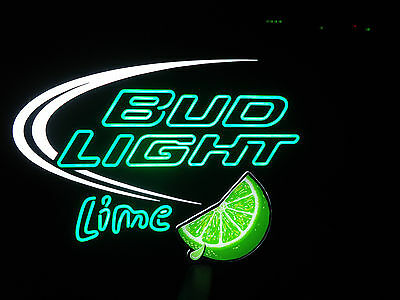 Anheuser-Busch, Bud Light Lime Optineon, Sign, Led, New In Box