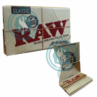 RAW Classic Artesano 1.25 11/4 78mm Natural Unrefined Rolling Papers
