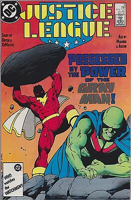 Justice League #6 (Oct 1987, DC) FN