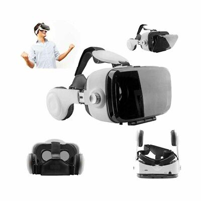 3D Virtual Reality Headset VR Glasses+ Headphones For 4.0-6.0 Smartphones