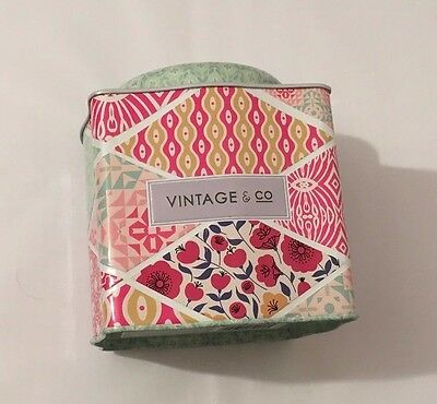 Vintage and Co Fabrics And Flowers Bath Fizzer Caddy 20 G - Pack Of 15
