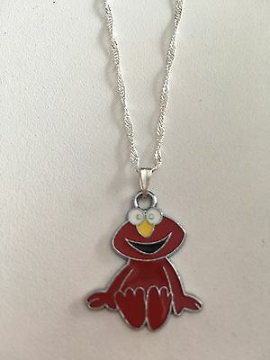 Elmo Style Child's Necklace Red Sesame Street