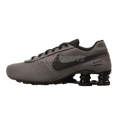 Nike Shox Deliver PNT GS Kids Youth Womens Running Shoes Grey Black 615981-004