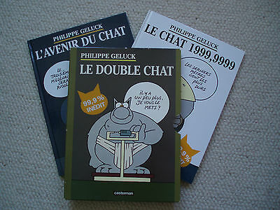LE CHAT ; le double chat ( coffret )