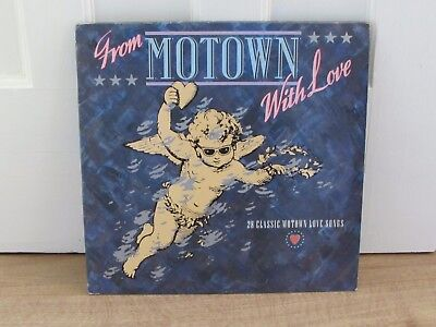 "Various ‎– From Motown With Love LP Albums 12"" Vinyl Record"