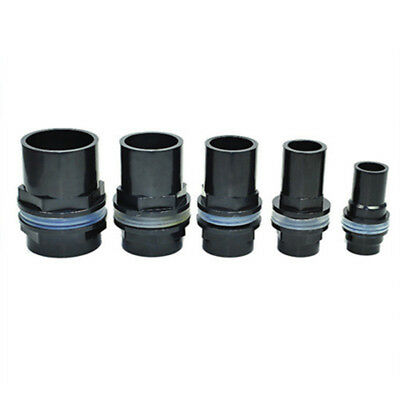 BulkHead To Aquarium Marine Pipe Fitting Connector 20/25/32/40/50mm Waterproof
