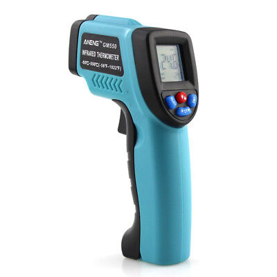 Non-Contact IR Infrared Digital Temperature Temp Thermometer Laser Point Gun UK