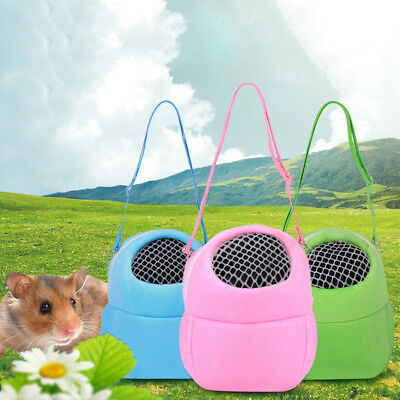 Pet Carrier Hamster Rat Hedgehog Small Animals Sleeping Outdoor Traveling Bag