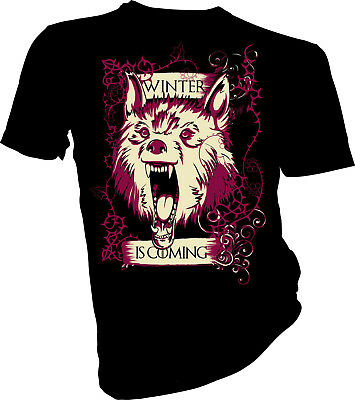 Game of Thrones, Direwolf Winter Is Coming, House Stark Adult & Kids T-Shirt