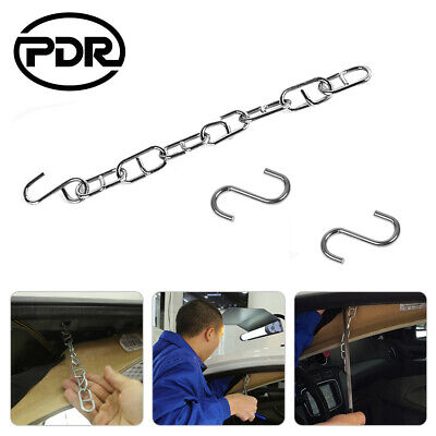 PDR Tools Nylon Strap S Hook Paintless Dent Repair Hail Removal Kit For PDR Rods