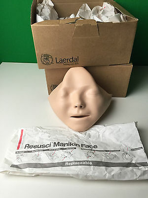 ONE New Laderal Resusci Replaceable Manikin Face CPR Dummy Mask Cover