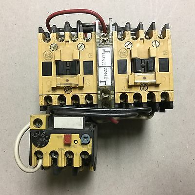 Allen Bradley 104-A09ND3  Reversing Starter  With 193-BSB 12 Overload Relay