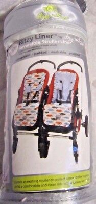 Itzy Ritzy Baby Girl's Stroller Accessories Seat Liner Reversible MSRP $39.99