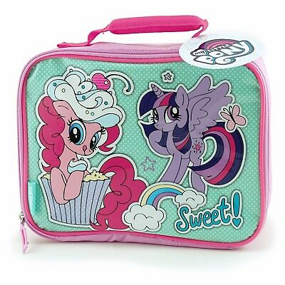 My Little Pony Thermos Soft Side Lunch Kit Insulated Box with Handle NWT