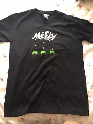 McFly Tour Tshirt Space Invaders Style Size S