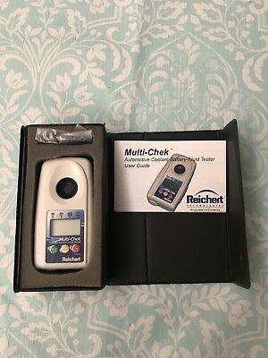 REICHERT 13940015 Digital Refractometer,Accuracy 0.3 Deg.
