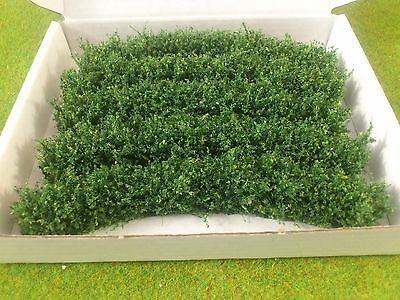 20mm Tall  Curved Scruffy hedging for Model Railway/Diorama OO/HO Gauge