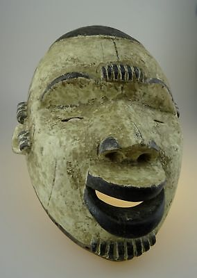 Old Original Traditional Hand Made Ritual African Tribal Mask