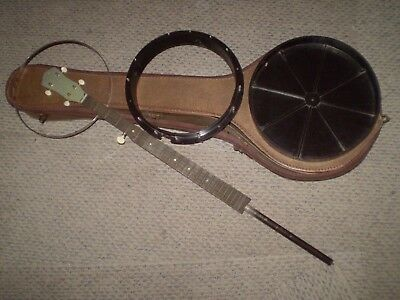 Old Warrior Harmony 5 Str. Banjo Project w/ Case
