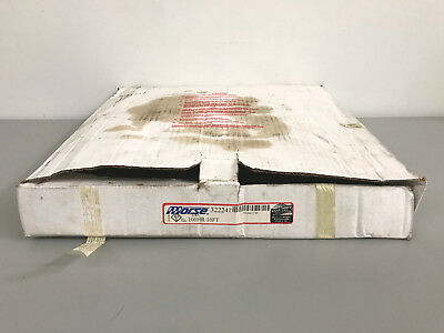 New 10ft. Box of Morse 100HR Single Strand Riveted Roller Chain 322241