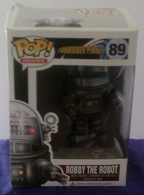 Pop Movies - Forbidden Planet-Robbie The Robot Model 89 - New - Free P & P
