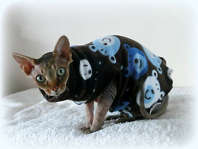 adult BEARS cat top for a Sphynx cat clothes for Sfinks, cat clothes, winter