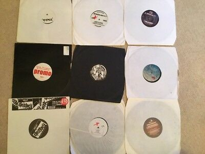 9 X Uk Garage / Grime / 8 Bar Records - Rare See Pictures--