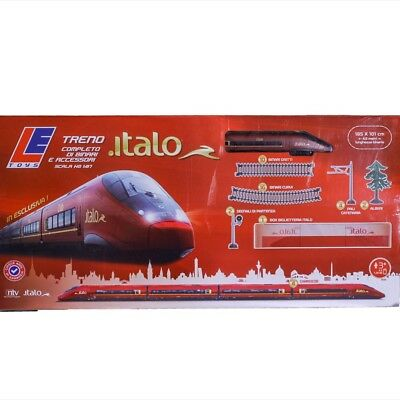 Italo Set Treno A Batteria Scala Ho Level Toys Cod. Let13201