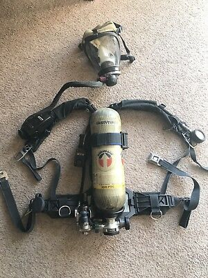 Survivair Panther HP30 APPARATUS (SCBA) - Mask, Compass Pass, Doubler And Case!