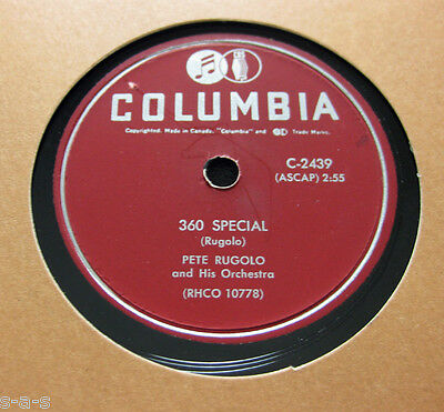 Nice Price: Pete Rugolo - 360 Special / California Melodies COLUMBIA (375)