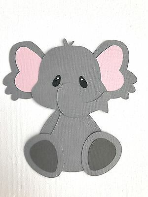 Elephant fully assembled die cut