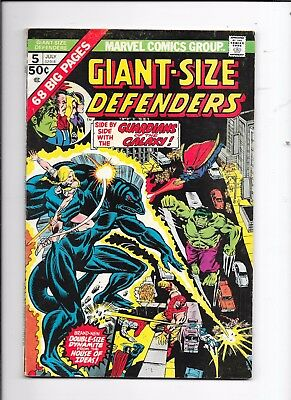 Giant-Size The Defenders #5 Marvel Comics (1975)