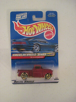 Hot Wheels Circus On Wheels Series 56 Flashsider #025 New Sealed (14)