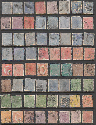 Queensland - Classic Study Lot - 64 stamps (Ref-105)