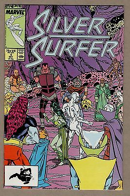 Silver Surfer #4 (Oct 1987, Marvel) NM