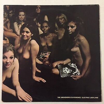 Jimi Hendrix Electric Ladyland Nude Cover ONLY No Vinyl Records UK Import Vtg