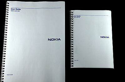 Nokia Lumia 520 Full user guide instruction manual * PRINTED IN FULL COLOUR*