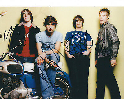All American Rejects Autographed Photo Signed 8X10 #3 Tyson Nick Mike Chris