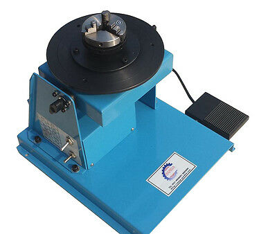220V 10KG Light Duty Welding Turntable Positioner 2-16rpm with 65mm Chuck H