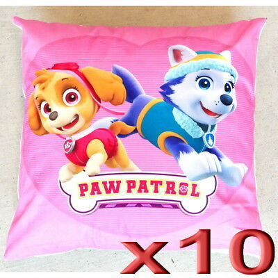10pc Wholesale Kids Girls Paw Patrol Skye Square Pillow Case Cushion Cover 44cm