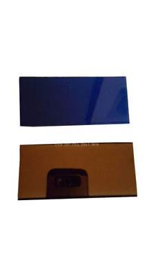 """ULTRA Blue lens with hardened Gold filter 2"""" X 4.25 2pc  2  sets for  $40"""