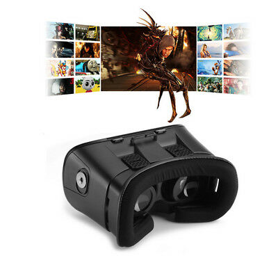 3D VR-Box 2nd Virtual Reality Glasses Cardboard Movie Game For Samsung IOS