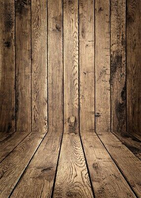Christma Wood Floor Photo Background Vinyl Cloth Photography Backdrop Prop 5x7ft