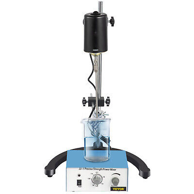 Electric overhead stirrer mixer corrosion resistance laboratory STEEL shaft