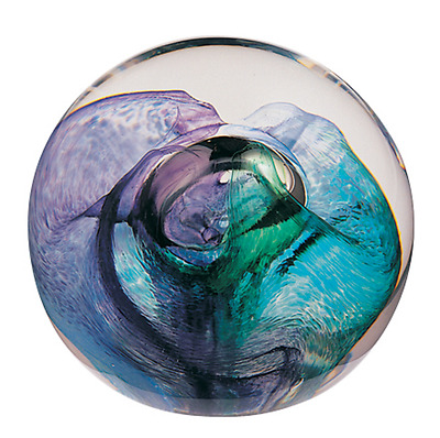 Caithness Glass Mooncrystal Green Paperweight 5.5cm U97073 UK Made Unlimited