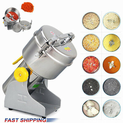 Electric Grinder Herb Coffee Beans Grain Cereal Mill Powder Machine Flour