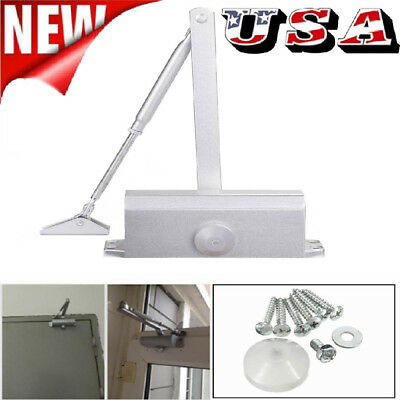 45~80Kg Fire Rated Overhead Door Opener Closer Soft Closure-Adjust Safety Office